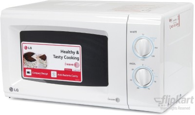 LG MS2021CW 20 L Solo Microwave Oven (White)
