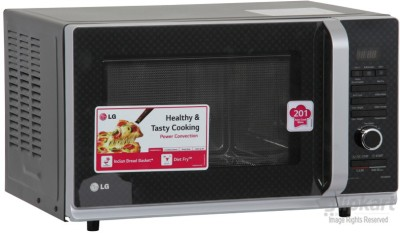 LG MC3283AG 32 L Convection Microwave Oven (Black)