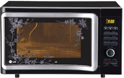 LG MC2884SMB 28 L Convection Microwave Oven (Black Floral)