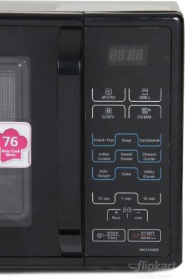 LG MC2144CP 21 L Convection Microwave Oven (Black)