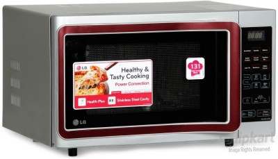 LG MC2841SPS 28 L Convection Microwave Oven (Silver)