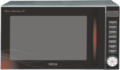 Onida MO20CJP27B 20 L Convection Microwave Oven (Reddish Black)