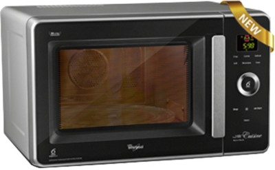 Whirlpool JQ 2801 Jet Cuisine Nutritech 29L 29 L Convection Microwave Oven (Black Facia and Silver Body)