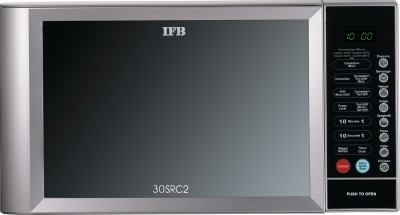 IFB 30SRC2 30 L Convection Microwave Oven (Metallic Silver)