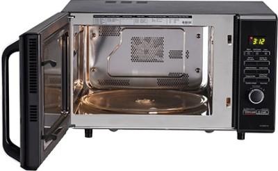 LG MC2844EB 28 L Convection Microwave Oven (Black)