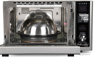 LG MJ3283BCG 32 L Convection Microwave Oven (Silver)