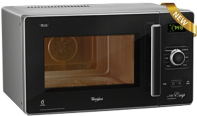 Whirlpool 25 L Jet Crisp Steam Tech 25 L Convection Microwave Oven (Matt Silver)
