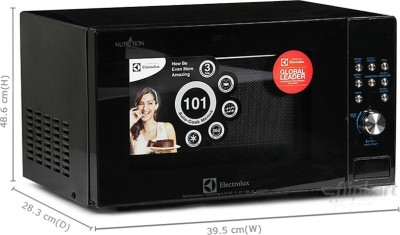Electrolux C23J101.BB-CG 23 L Convection Microwave Oven (Black)