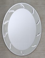 Bath Boutique Bath Boutique Capsule Decorative Mirror