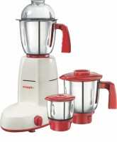 Snapple Scarlet 550 W Mixer Grinder (White,Red, 3 Jars)