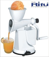 Ritu Ritu Fruit Juicer 0 W Juicer (white, 1 Jar)