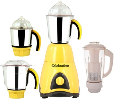 Celebration-Combo-Pack-of-4-Jars-with-1-White-Blender-Without-Attachment-free-CB-73-600-W-Mixer-Grinder