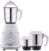Bajaj Platini PX 75M With 3 Jars 500 W Juicer Mixer Grinder (White, 3 Jars)