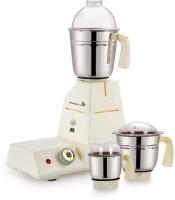 Bhagyashree Electricals Jumbo King 550 W Mixer Grinder (Ivory, 3 Jars)