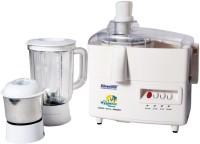 Silverline Kitchen Master 500 W Juicer Mixer Grinder (White, 2 Jars)