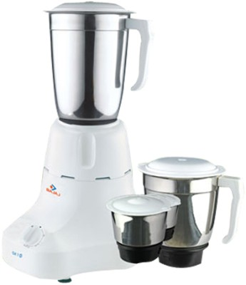 Buy Bajaj Majesty GX 7 3 Jars 500 Watts Mixer Grinder: Mixer Grinder Juicer