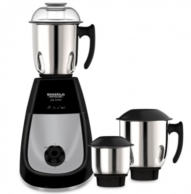 Maharaja Whiteline Joy Turbo 3jar 750 W Mixer Grinder