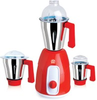 Spectra Cyclone 550 W Mixer Grinder (Red, 3 Jars)
