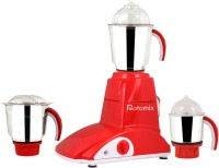 Rotomix Roto 600 StyloRed 600 W Mixer Grinder (Red, 3 Jars)