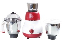 Orpat Kitchen Chef 500 W Mixer Grinder (Red, 3 Jars)
