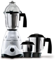 Morphy Richards Icon DLX 600 W Mixer Grinder (Silver, 3 Jars)