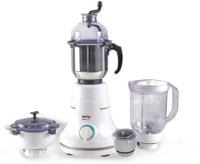 Kenstar Stallion Dx 4J MG-0411-4J With 4 Jars 600 W Juicer Mixer Grinder (White, 4 Jars)