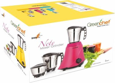 Greenchef NETO-YELLOW 550 W Mixer Grinder