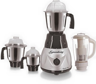 speedway-Combo-Pack-of-4-Jars-with-1-White-Blender-With-Attachment-free-SW-169-750-W-Mixer-Grinder