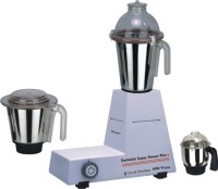 Sunmeet Domestic Plus 1000 Watts Heavy Duty 1000 W Mixer Grinder (White, 3 Jars)