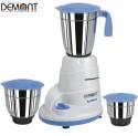 Demont MG-Deluxe 550 W Mixer Grinder - Blue, 3 Jars