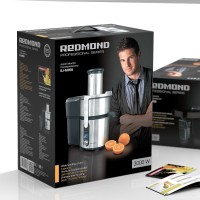 REDMOND Electric Juice Extractor | loading aperture 84mm, Low noise RJ-M908 1000 W Juicer