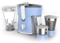 Philips Amaze HL 7576 600 W Juicer Mixer Grinder (Aqua Blue, 3 Jars)