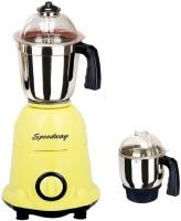Speedway SW 600 ArwaYellow 600 W Mixer Grinder (Yellow, 2 Jars)