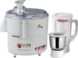 ACTIVA DESIRE PLUS 2 JARS 600 W Juicer Mixer Grinder