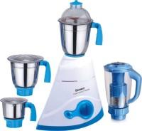 Sunmeet Smart Leaf 600 W Mixer Grinder (White, Blue, 4 Jars)