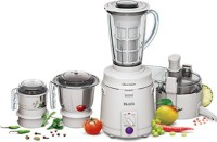 Sujata Multimix 810 W Juicer Mixer Grinder (White, 4 Jars)