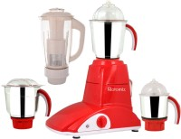 Rotomix Roto 600 StyloRed 600 W Mixer Grinder (Red, 4 Jars)