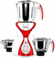 Mr. Butler MG MX01 Red 550 W Mixer Grinder (Red, 3 Jars)