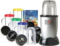 Magic Bullet 21 Pcs High Speed Blender/Mixer System 350 W Juicer Mixer Grinder (Multicolor, 4 Jars)