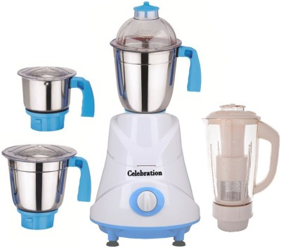 Celebration-Pack-of-4-Jars-with-1-White-Blender-With-Attachment-CB-138-750-W-Mixer-Grinder