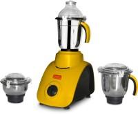 Kitchen King Fortuner 750 W Mixer Grinder (Yellow, 3 Jars)