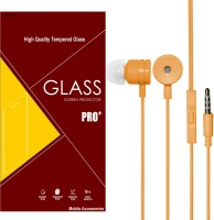 P6V Samsung Galaxy Note 2 GT N7100-Premium Quality C-TEMP2216 Combo Set (Transparent, Orange)