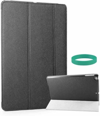 DMG Tri Fold Flip Case for Apple iPad Air New iPad 5 with Wristband Combo Set Black available at Flipkart for Rs.594