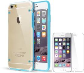 IMC DEALS iPhone 6(4.7) Transparent Hard Clear TPU Case With Screen GuardiPhone 6(4.7) TPU Clear Transparent Case Combo Set