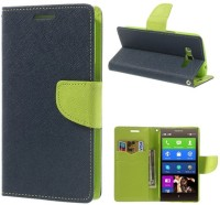 buy popular 7c643 372c0 RDcase Flip Cover for CoolPad Dazen Note 3, CoolPad Note 3 (Blue:Green)