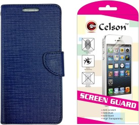 Celson Vivo Y11 Flip Cover With 1 Screen Guard Combo Set