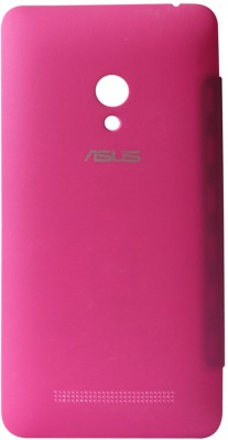 DMG Circle Window Flip Book Cover Case for Asus Zenfone 5 Magenta, Matte Screen, Stylus Combo Set Pink available at Flipkart for Rs.599