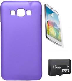 Nextcase Hard Back Case Cover For Samsung Galaxy Grand Max + Screen Guard + 16gb Micro Sd Memory Card Combo Set