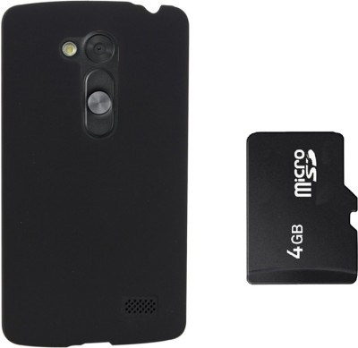KolorEdge Back Cover & 4GB Memory Card For LG G2 Lite Combo Set