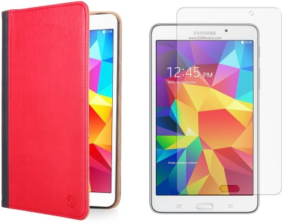 Vangoddy Mary Portfolio Multi Purpose Book Style Slim Flip Case for Samsung Galaxy Tab4 T330/T331 8.0 and Matte Screen Combo Set available at Flipkart for Rs.1299